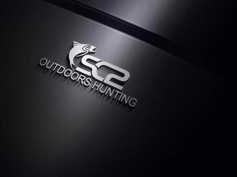 Logo Design by Taher Patwary - Entry No. 48 in the Logo Design Contest Imaginative Logo Design for SC2 Outdoors Hunting / Fishing Logo.