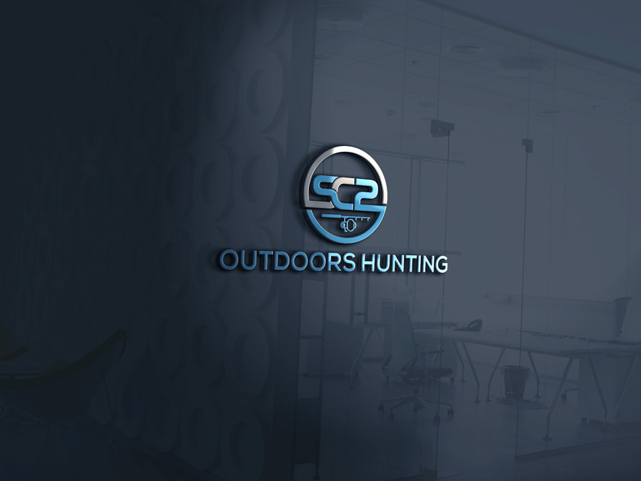Logo Design by Magic Tools - Entry No. 59 in the Logo Design Contest Imaginative Logo Design for SC2 Outdoors Hunting / Fishing Logo.