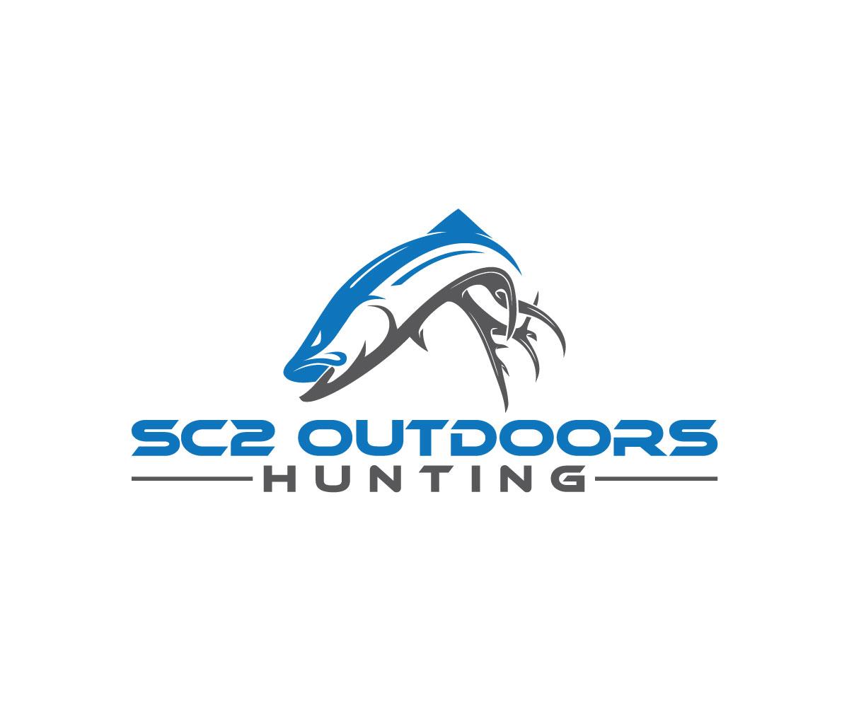 Logo Design by Masum Billah - Entry No. 60 in the Logo Design Contest Imaginative Logo Design for SC2 Outdoors Hunting / Fishing Logo.