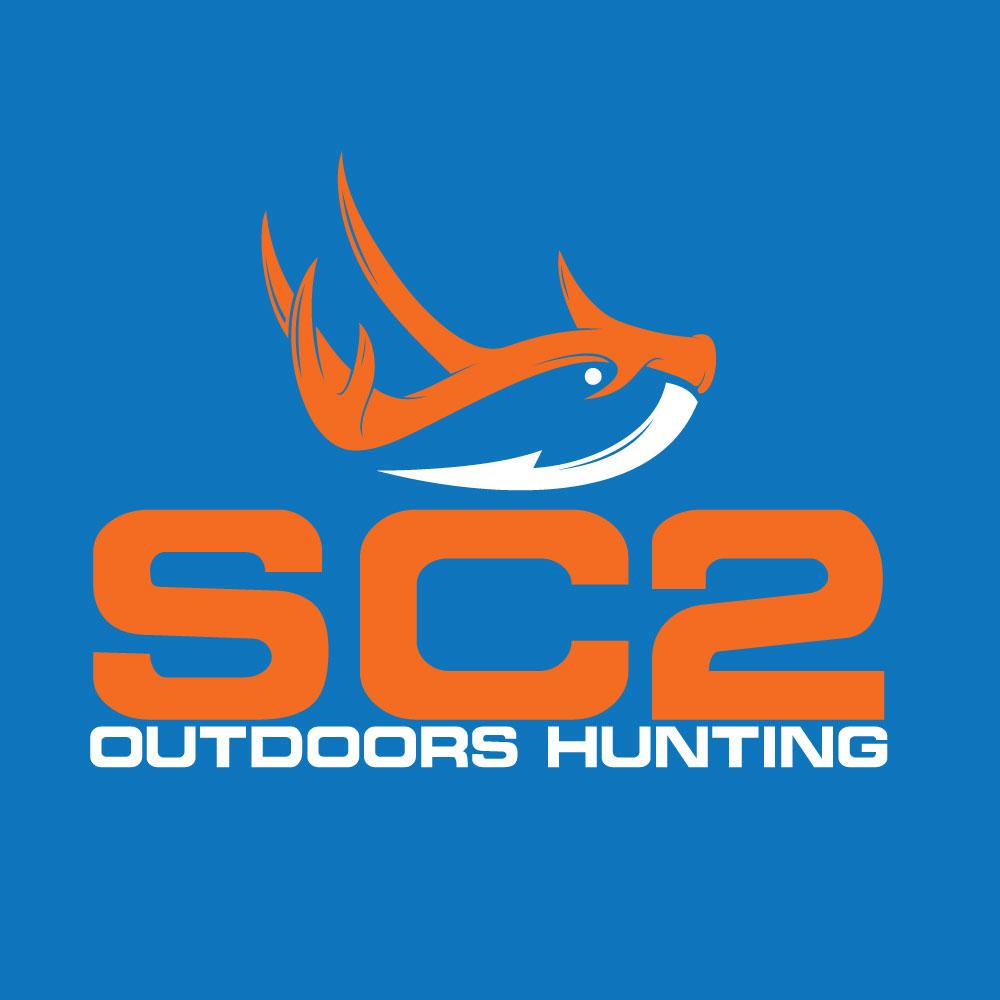 Logo Design by Abu Backar - Entry No. 65 in the Logo Design Contest Imaginative Logo Design for SC2 Outdoors Hunting / Fishing Logo.