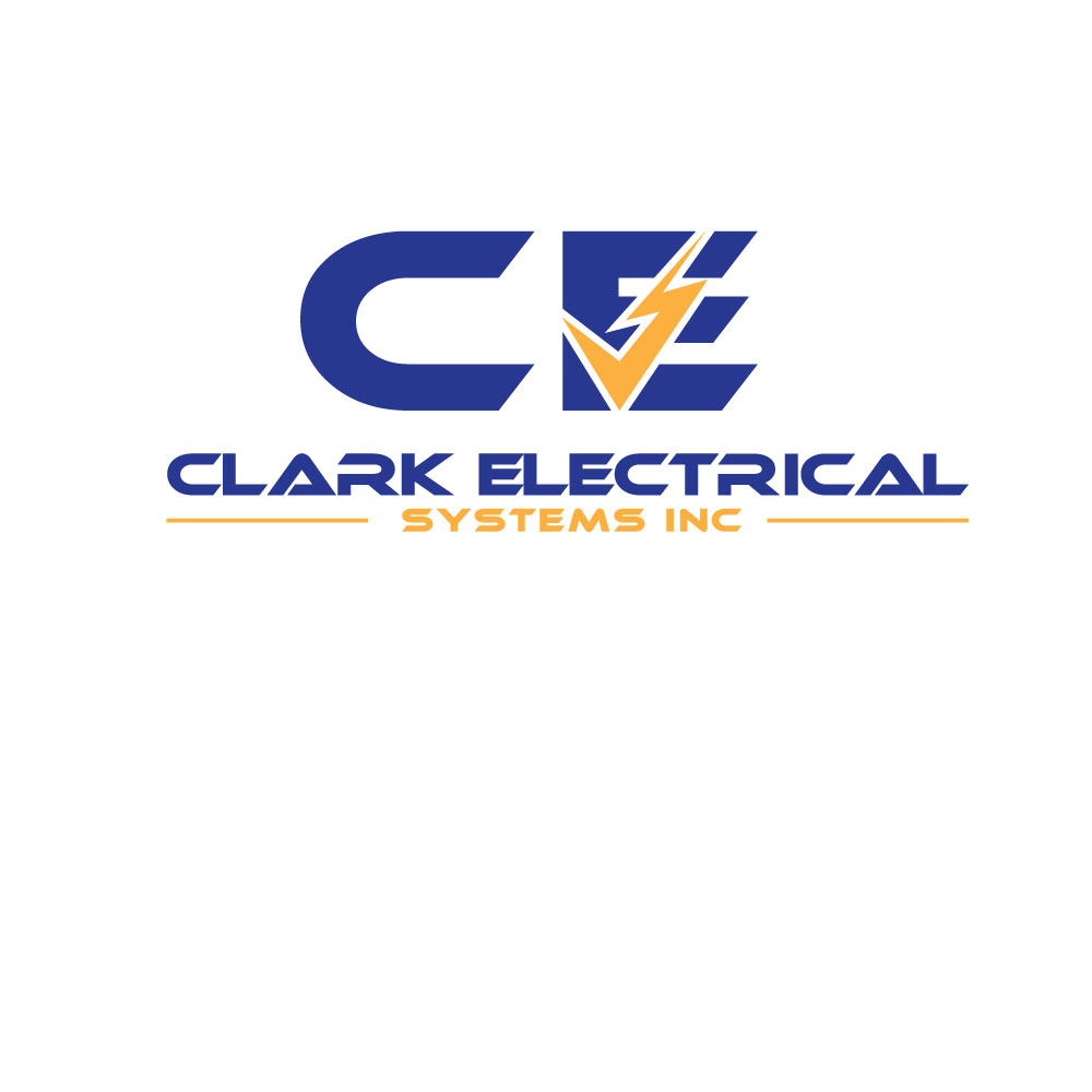 Logo Design by Ismail Hossain - Entry No. 123 in the Logo Design Contest Artistic Logo Design for Clark Electrical Systems Inc..