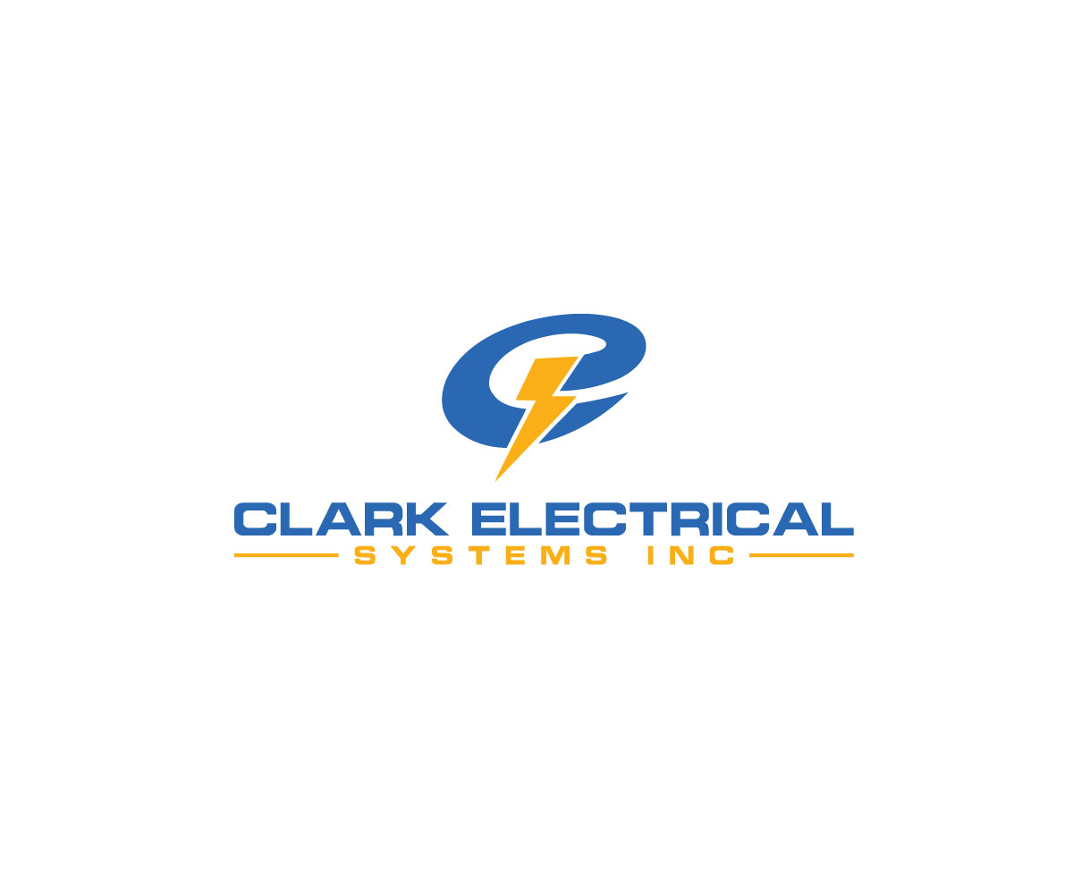 Logo Design by Salah Uddin - Entry No. 124 in the Logo Design Contest Artistic Logo Design for Clark Electrical Systems Inc..