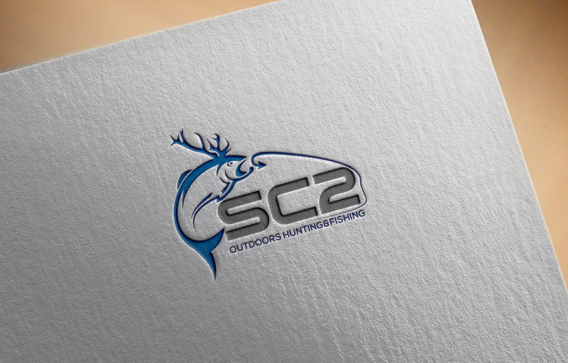 Logo Design by ARMAN HOSSAIN - Entry No. 78 in the Logo Design Contest Imaginative Logo Design for SC2 Outdoors Hunting / Fishing Logo.