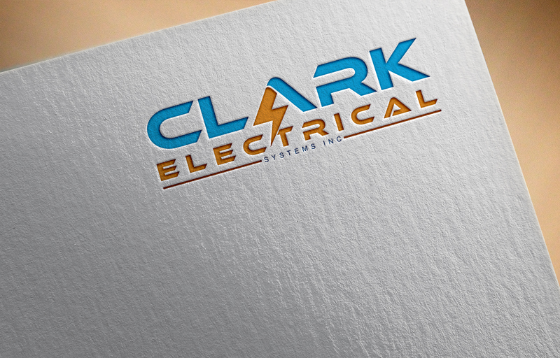 Logo Design by Ahmed Murad - Entry No. 136 in the Logo Design Contest Artistic Logo Design for Clark Electrical Systems Inc..