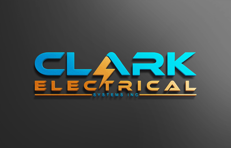 Logo Design by Ahmed Murad - Entry No. 138 in the Logo Design Contest Artistic Logo Design for Clark Electrical Systems Inc..