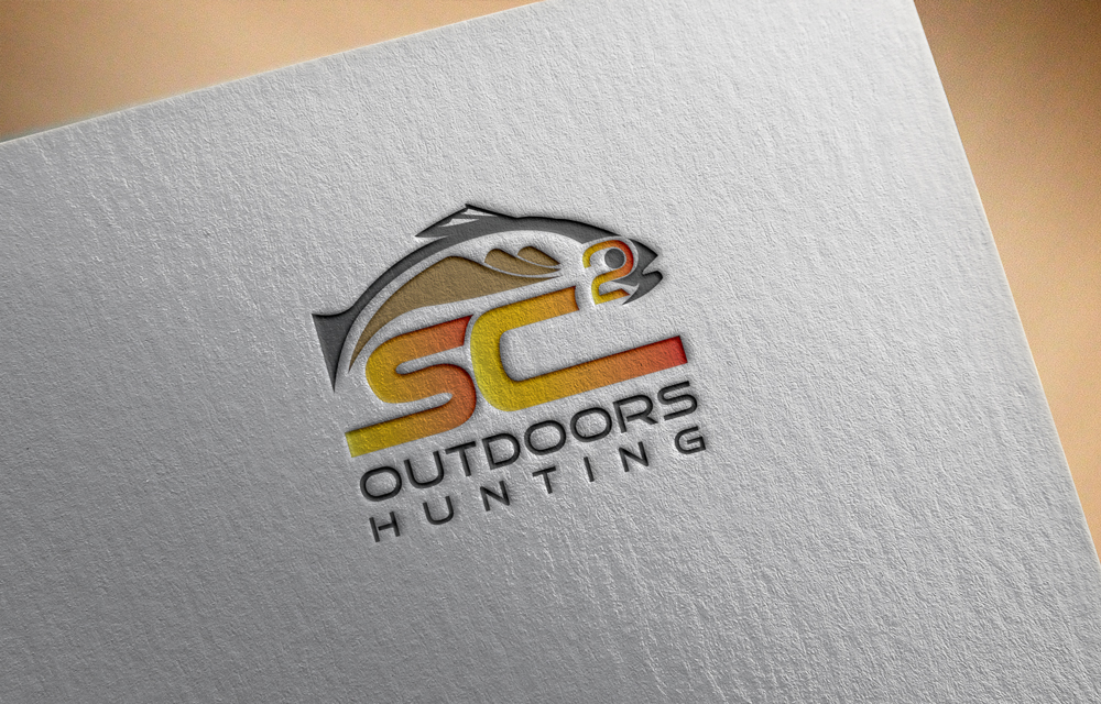 Logo Design by Lutful Ferdous - Entry No. 85 in the Logo Design Contest Imaginative Logo Design for SC2 Outdoors Hunting / Fishing Logo.