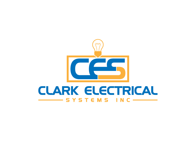 Logo Design by Abdullah al Jobair - Entry No. 139 in the Logo Design Contest Artistic Logo Design for Clark Electrical Systems Inc..