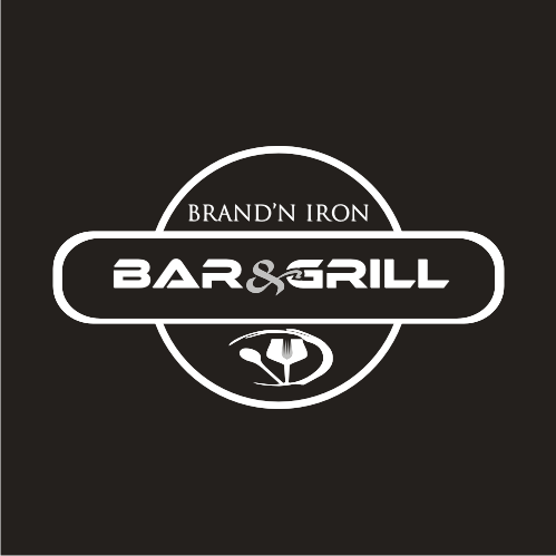 Logo Design by Bima Bima - Entry No. 191 in the Logo Design Contest Captivating Logo Design for Brand'n Iron Bar & Grill.