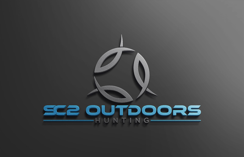 Logo Design by Ahmed Murad - Entry No. 91 in the Logo Design Contest Imaginative Logo Design for SC2 Outdoors Hunting / Fishing Logo.