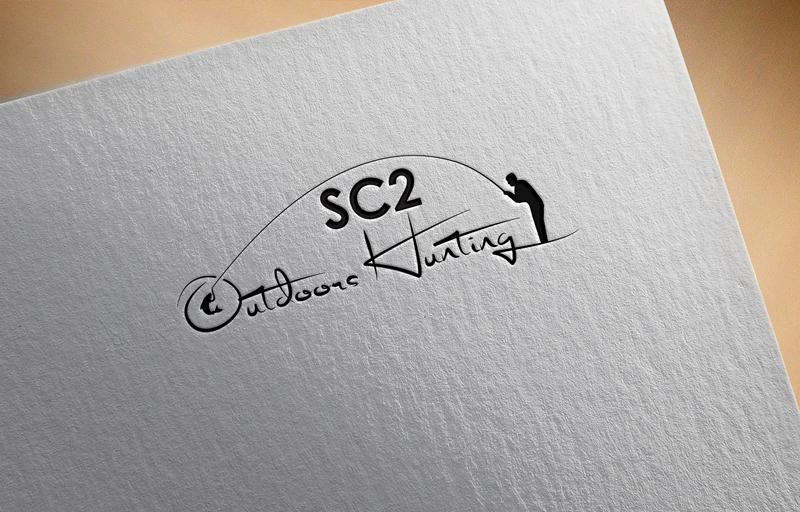 Logo Design by Salah Uddin - Entry No. 96 in the Logo Design Contest Imaginative Logo Design for SC2 Outdoors Hunting / Fishing Logo.