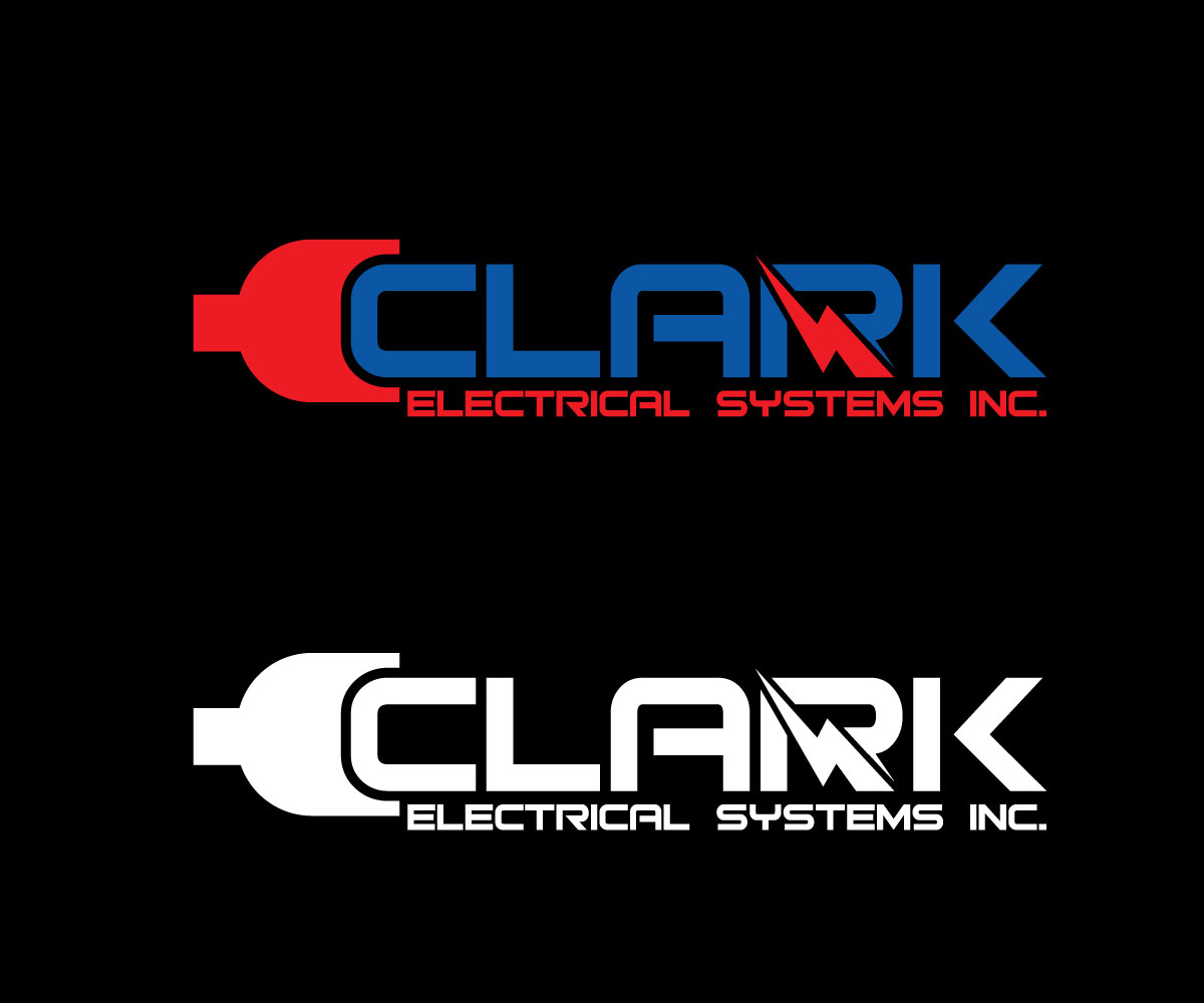 Logo Design by Mamun Hossain - Entry No. 148 in the Logo Design Contest Artistic Logo Design for Clark Electrical Systems Inc..