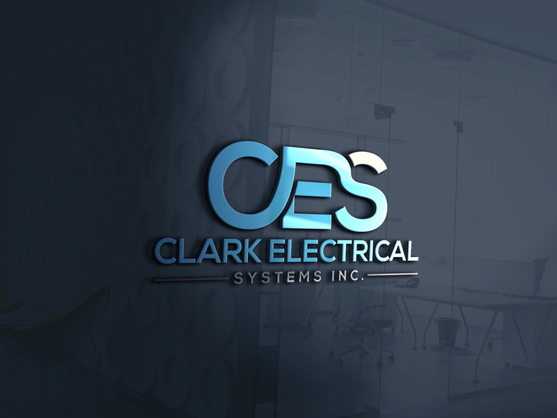 Logo Design by Maksud Rifat - Entry No. 156 in the Logo Design Contest Artistic Logo Design for Clark Electrical Systems Inc..