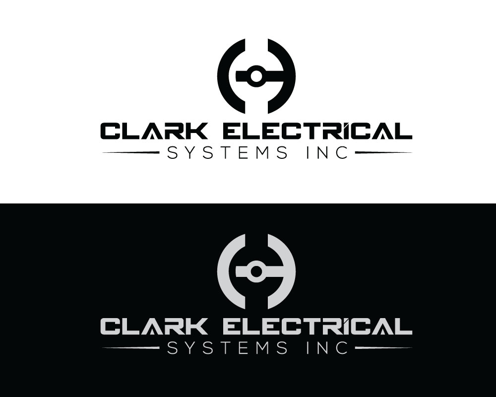 Logo Design by Desing Paglla - Entry No. 157 in the Logo Design Contest Artistic Logo Design for Clark Electrical Systems Inc..