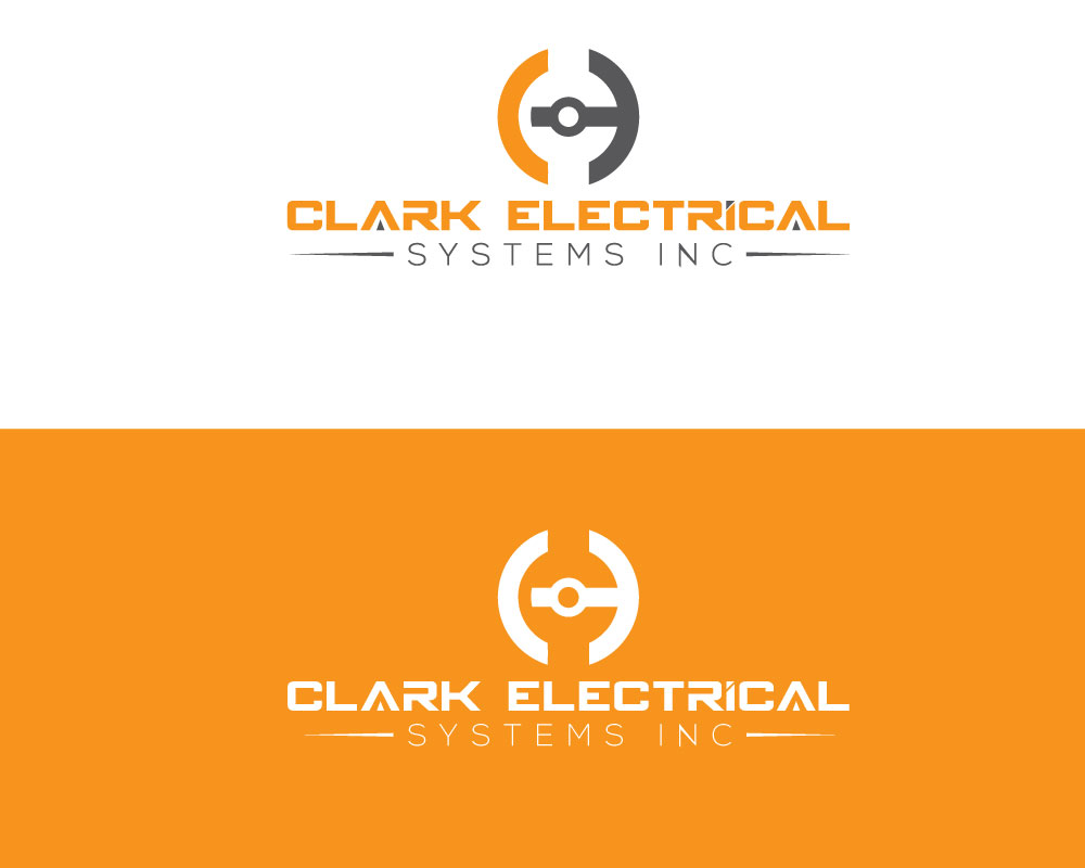Logo Design by Desing Paglla - Entry No. 159 in the Logo Design Contest Artistic Logo Design for Clark Electrical Systems Inc..