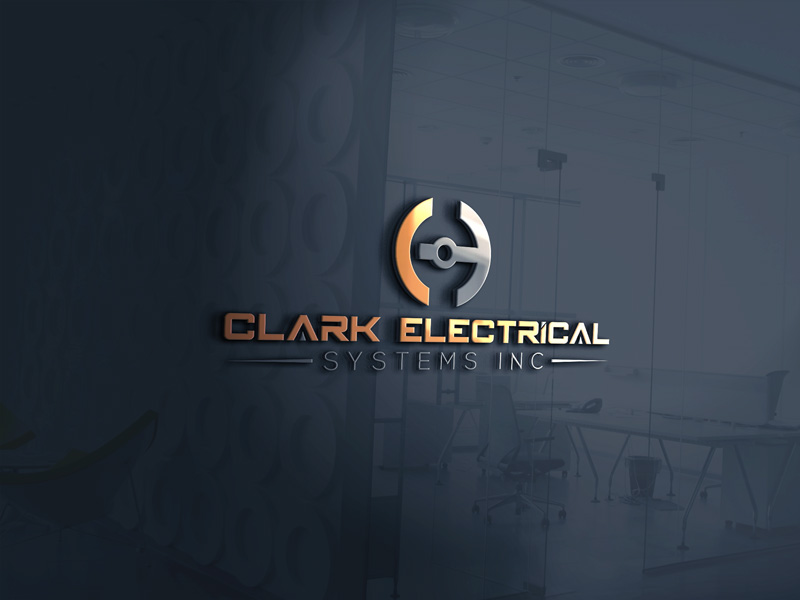 Logo Design by Desing Paglla - Entry No. 160 in the Logo Design Contest Artistic Logo Design for Clark Electrical Systems Inc..