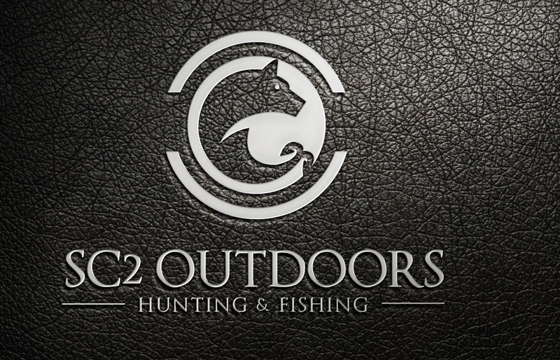 Logo Design by Ismail Hossain - Entry No. 103 in the Logo Design Contest Imaginative Logo Design for SC2 Outdoors Hunting / Fishing Logo.