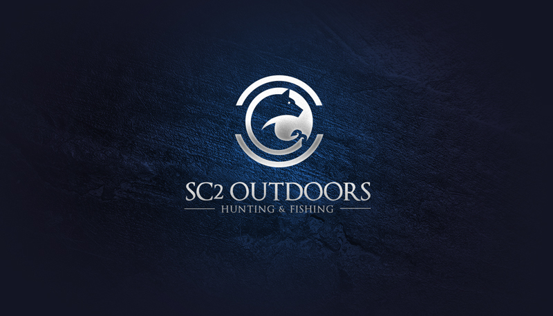 Logo Design by Ismail Hossain - Entry No. 104 in the Logo Design Contest Imaginative Logo Design for SC2 Outdoors Hunting / Fishing Logo.
