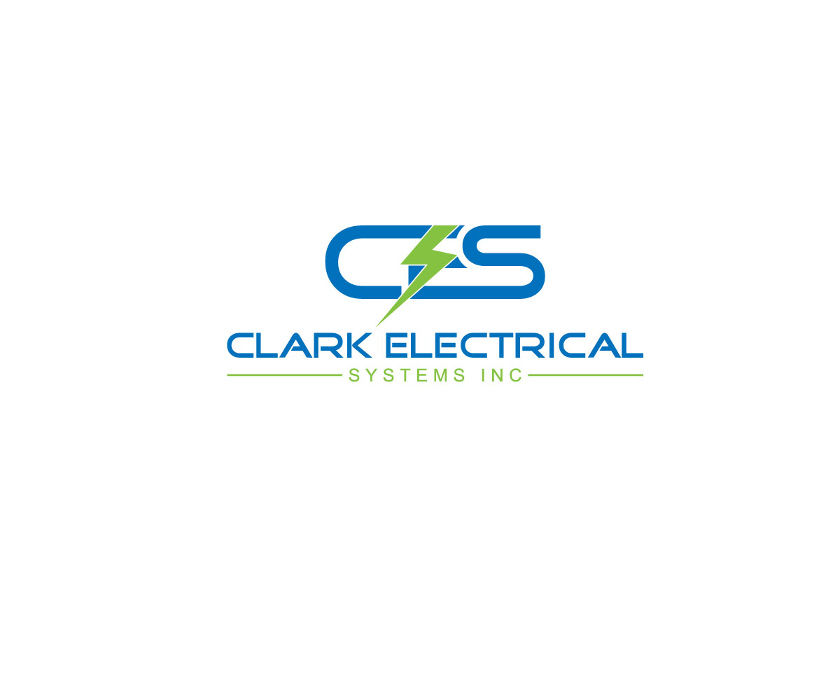 Logo Design by Kamal Hossain - Entry No. 165 in the Logo Design Contest Artistic Logo Design for Clark Electrical Systems Inc..