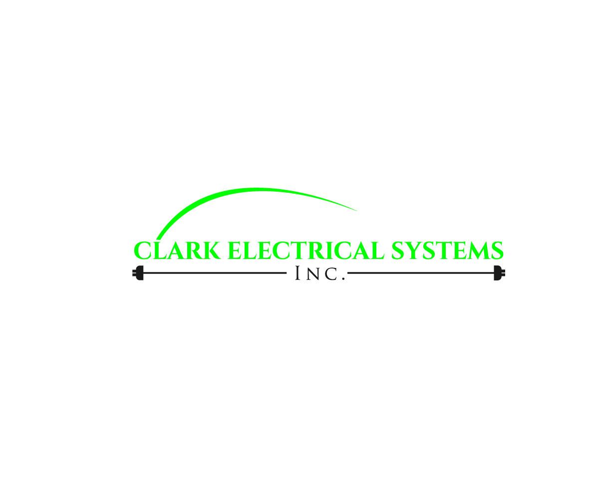 Logo Design by Kawsar Alam - Entry No. 167 in the Logo Design Contest Artistic Logo Design for Clark Electrical Systems Inc..