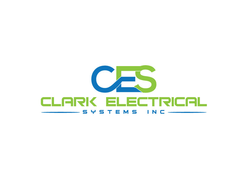 Logo Design by Halima Akthar - Entry No. 168 in the Logo Design Contest Artistic Logo Design for Clark Electrical Systems Inc..