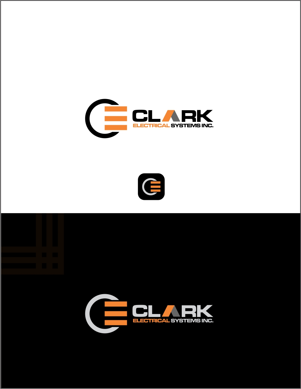 Logo Design by ian69 - Entry No. 170 in the Logo Design Contest Artistic Logo Design for Clark Electrical Systems Inc..