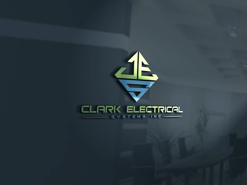 Logo Design by Halima Akthar - Entry No. 173 in the Logo Design Contest Artistic Logo Design for Clark Electrical Systems Inc..