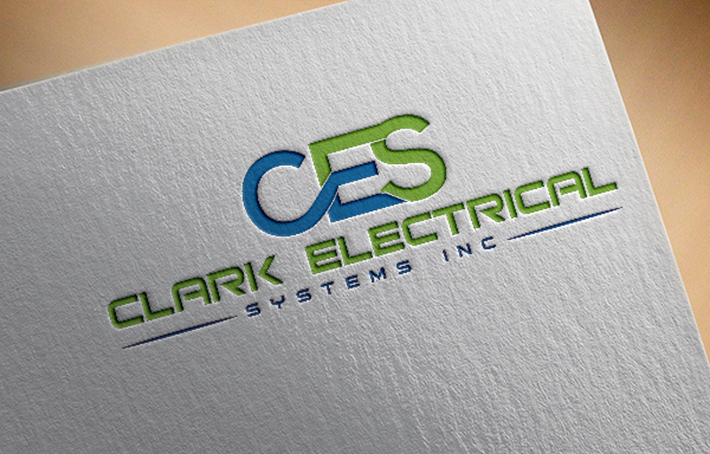 Logo Design by Halima Akthar - Entry No. 177 in the Logo Design Contest Artistic Logo Design for Clark Electrical Systems Inc..