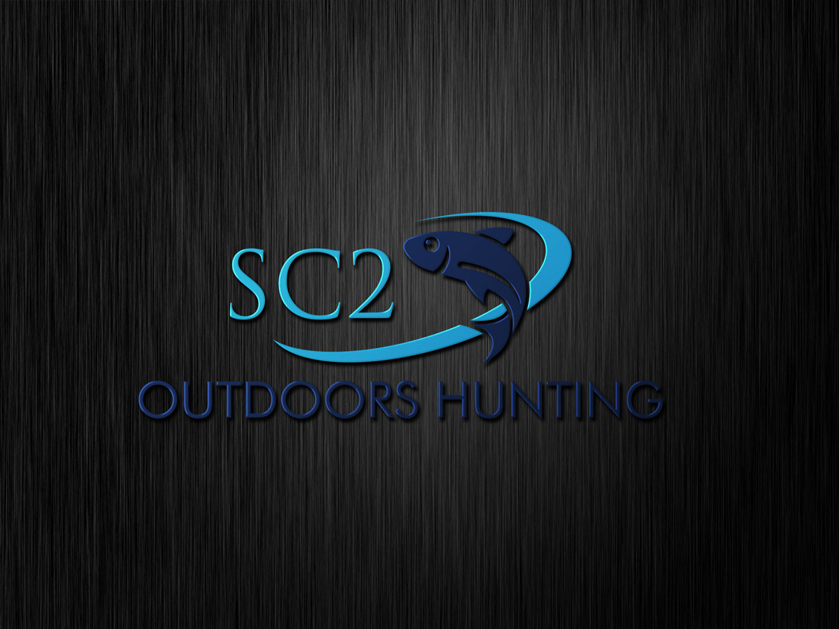 Logo Design by Private User - Entry No. 123 in the Logo Design Contest Imaginative Logo Design for SC2 Outdoors Hunting / Fishing Logo.