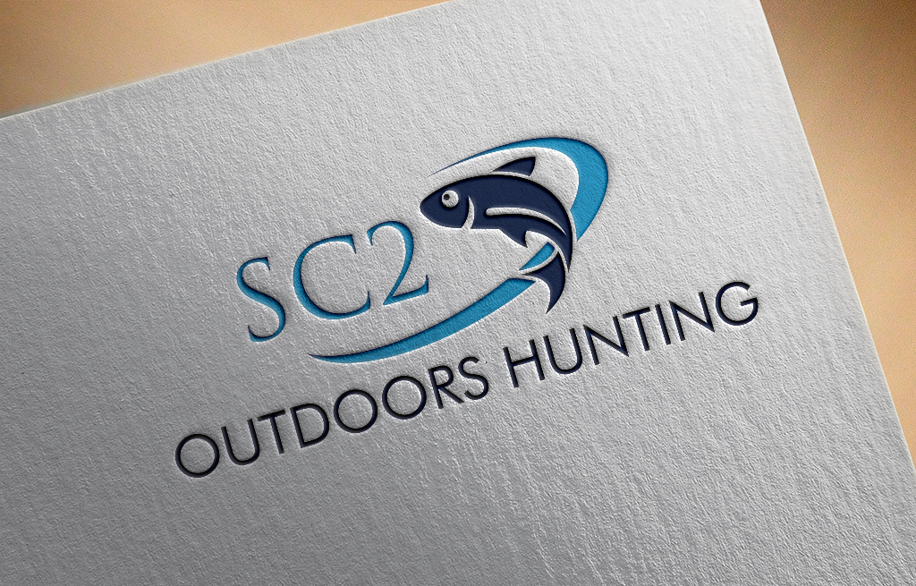 Logo Design by Private User - Entry No. 124 in the Logo Design Contest Imaginative Logo Design for SC2 Outdoors Hunting / Fishing Logo.