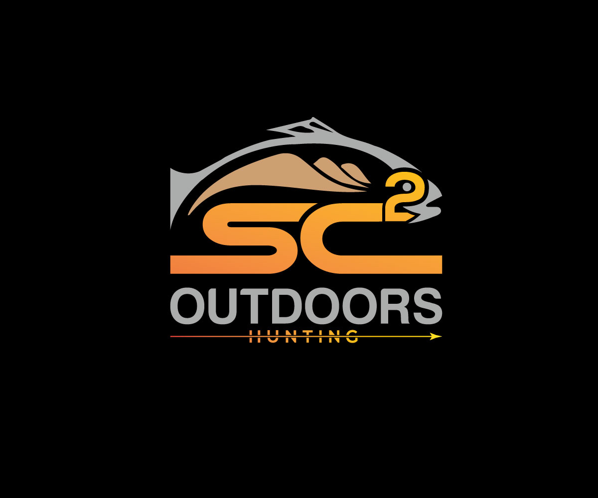 Logo Design by Tuhin Mazumder - Entry No. 129 in the Logo Design Contest Imaginative Logo Design for SC2 Outdoors Hunting / Fishing Logo.