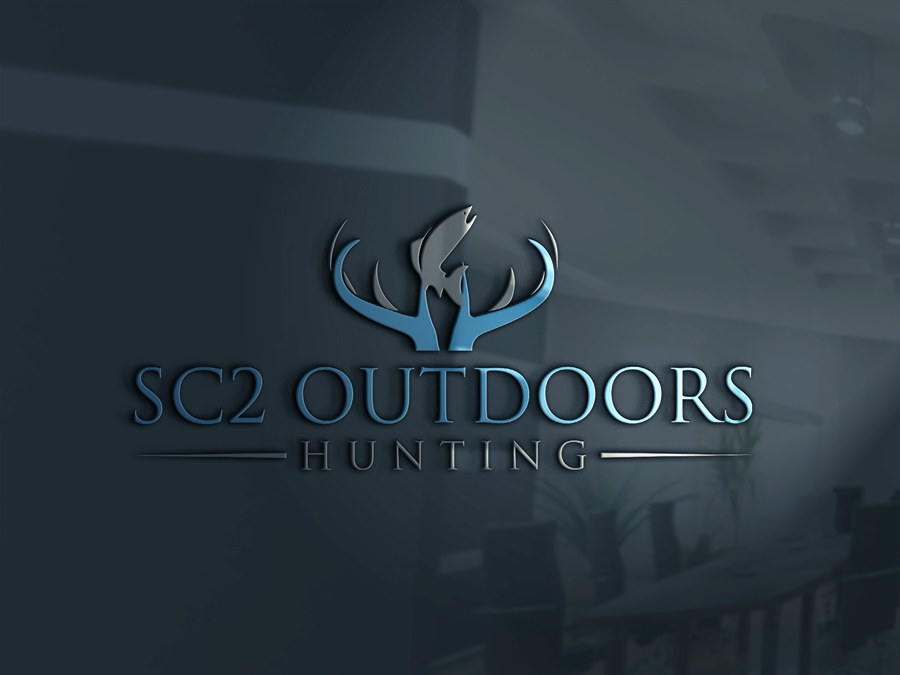Logo Design by Abdur Rahman - Entry No. 133 in the Logo Design Contest Imaginative Logo Design for SC2 Outdoors Hunting / Fishing Logo.