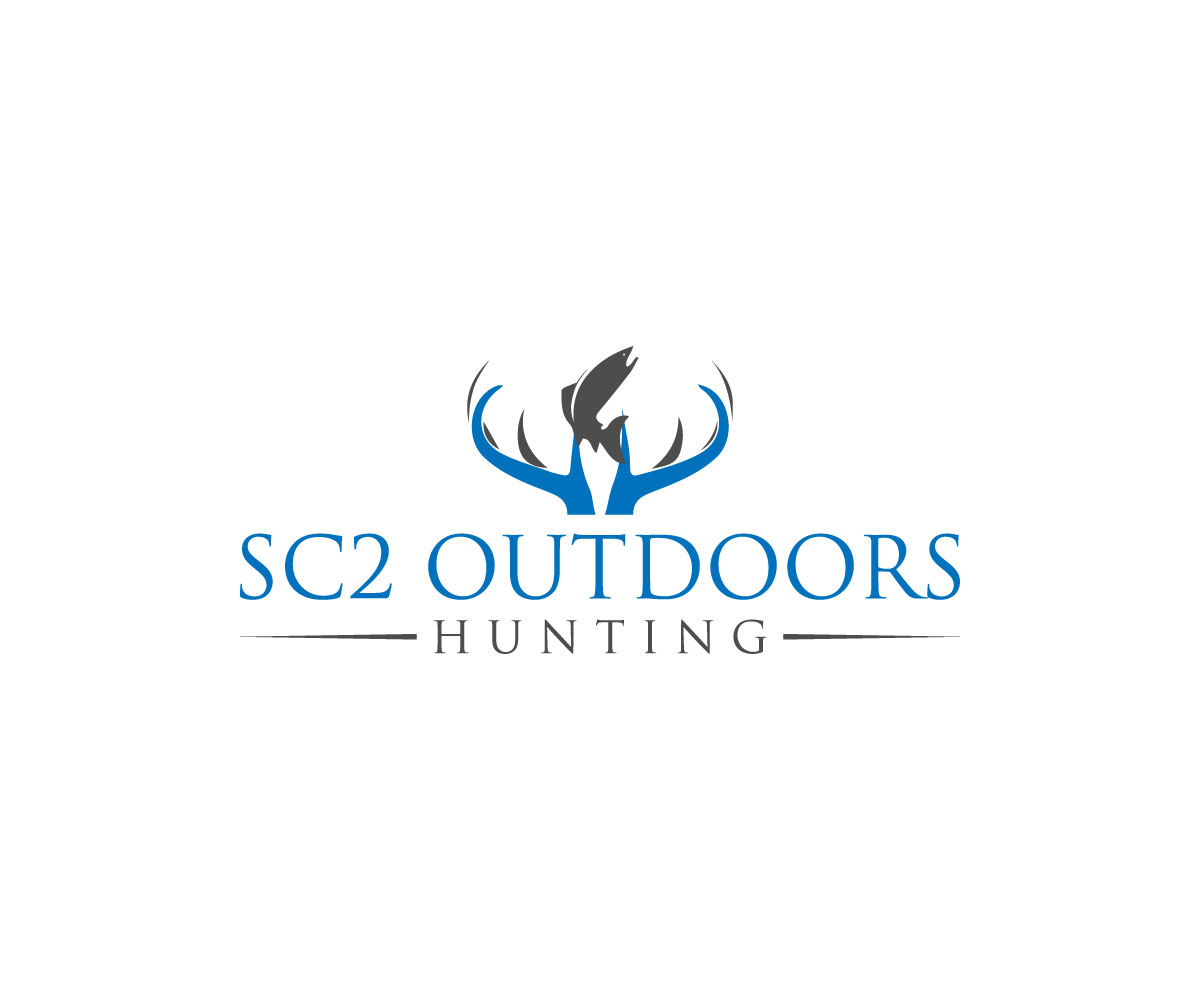 Logo Design by Abdur Rahman - Entry No. 134 in the Logo Design Contest Imaginative Logo Design for SC2 Outdoors Hunting / Fishing Logo.