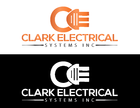 Logo Design by Melton Design - Entry No. 181 in the Logo Design Contest Artistic Logo Design for Clark Electrical Systems Inc..