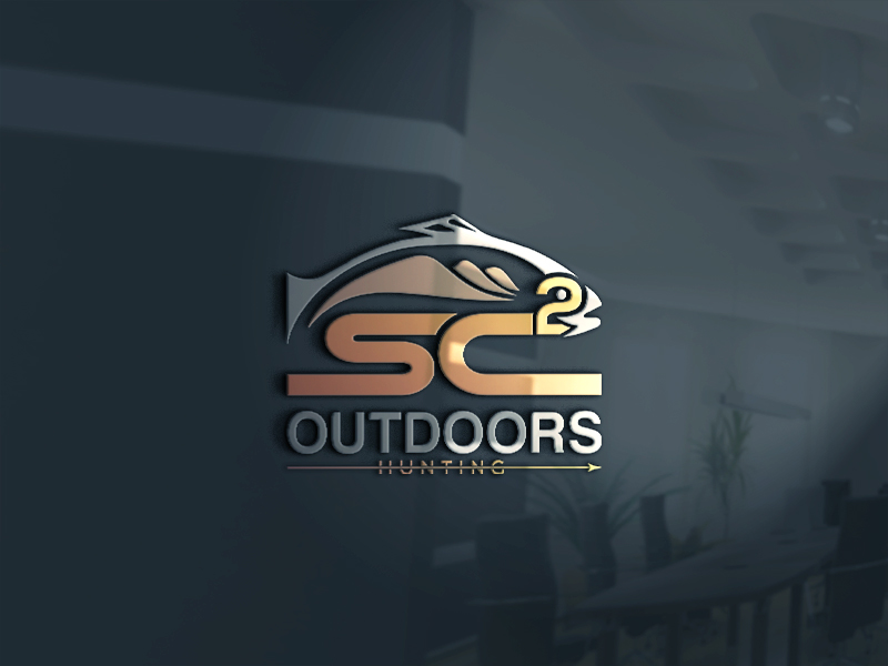 Logo Design by Tuhin Mazumder - Entry No. 136 in the Logo Design Contest Imaginative Logo Design for SC2 Outdoors Hunting / Fishing Logo.