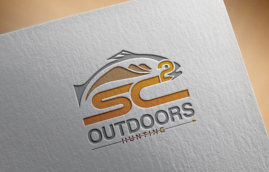 Logo Design by Tuhin Mazumder - Entry No. 137 in the Logo Design Contest Imaginative Logo Design for SC2 Outdoors Hunting / Fishing Logo.