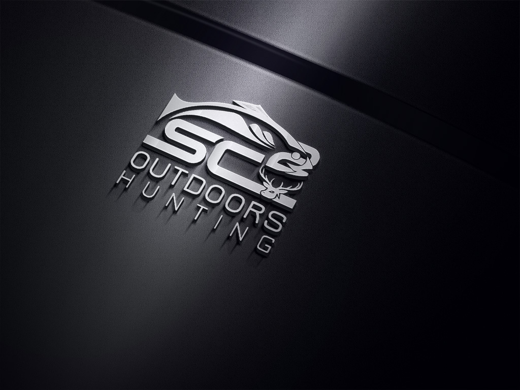 Logo Design by Kamal Hossain - Entry No. 150 in the Logo Design Contest Imaginative Logo Design for SC2 Outdoors Hunting / Fishing Logo.