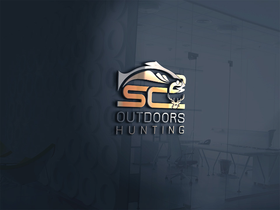 Logo Design by Kamal Hossain - Entry No. 153 in the Logo Design Contest Imaginative Logo Design for SC2 Outdoors Hunting / Fishing Logo.