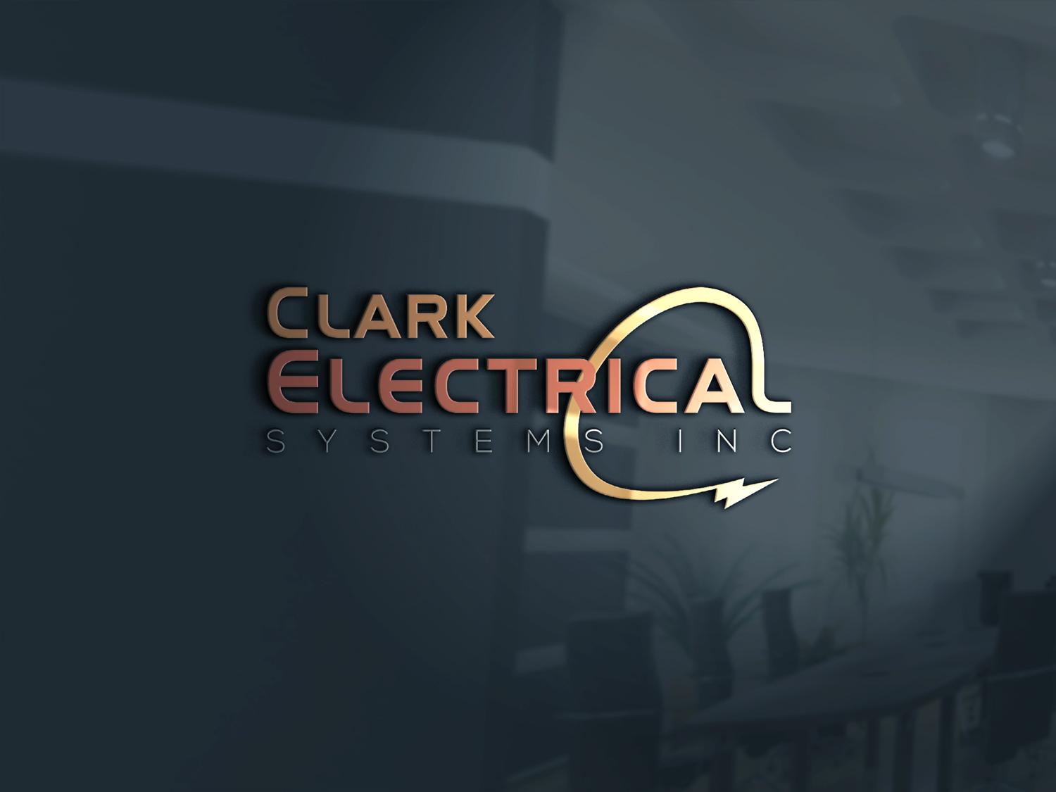 Logo Design by Md nayeem Khan - Entry No. 189 in the Logo Design Contest Artistic Logo Design for Clark Electrical Systems Inc..