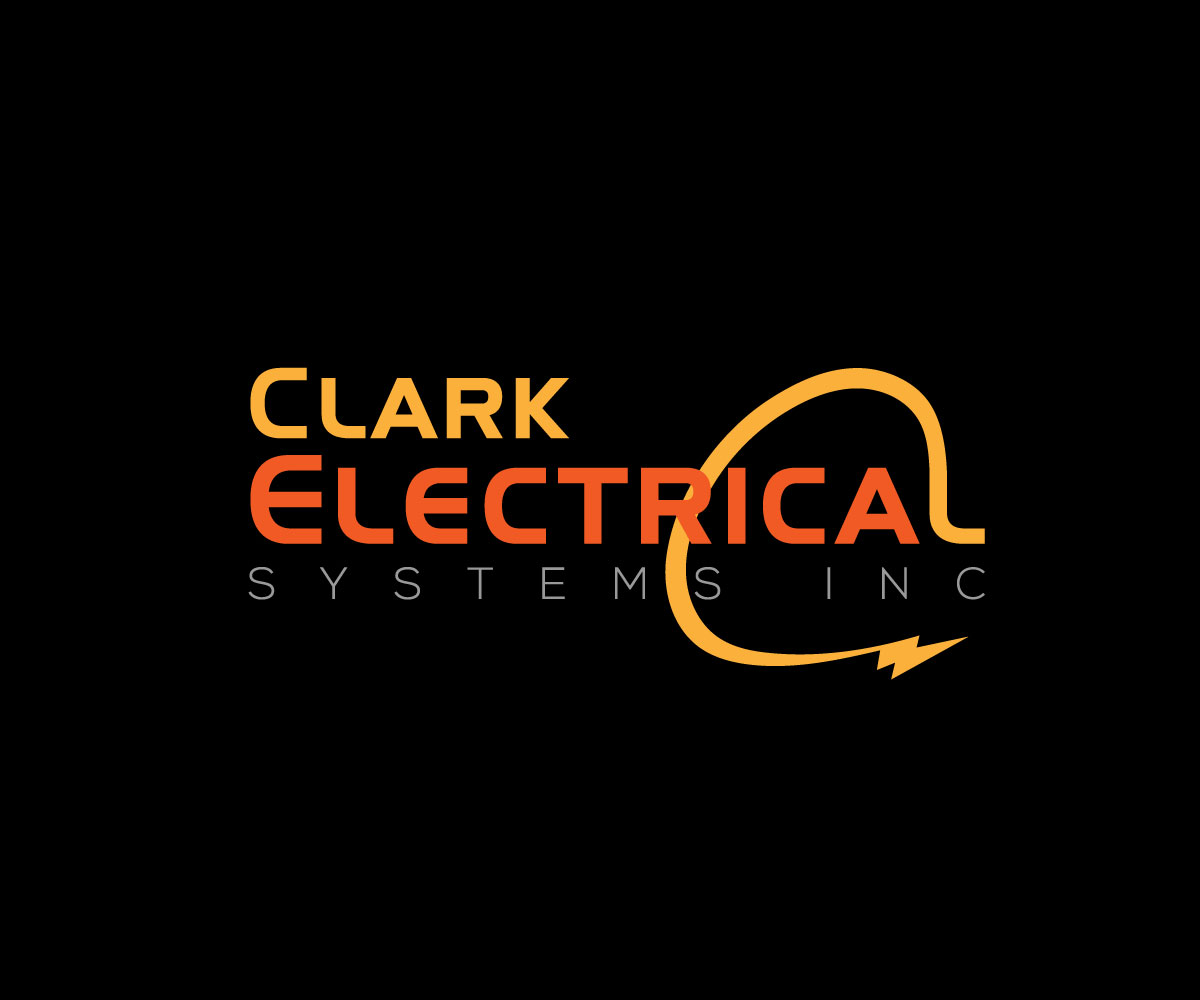 Logo Design by Md nayeem Khan - Entry No. 190 in the Logo Design Contest Artistic Logo Design for Clark Electrical Systems Inc..
