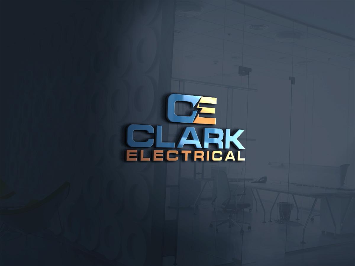 Logo Design by Omar Faruque - Entry No. 195 in the Logo Design Contest Artistic Logo Design for Clark Electrical Systems Inc..