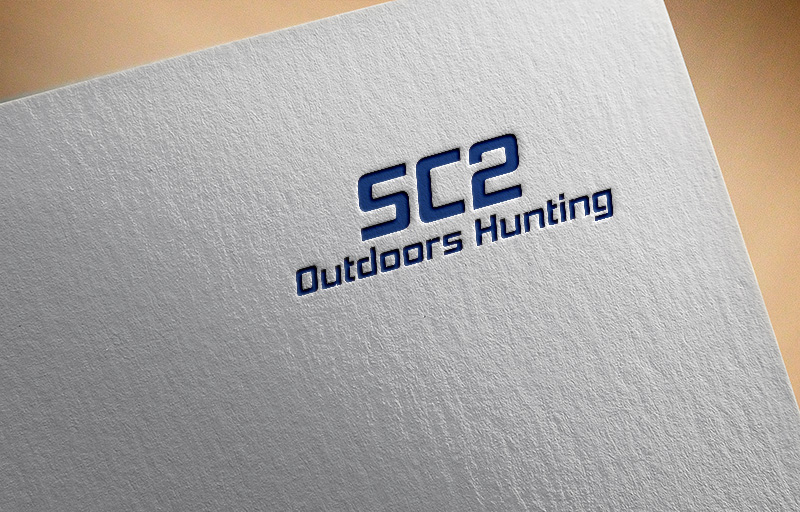 Logo Design by Sohel Sorkar - Entry No. 163 in the Logo Design Contest Imaginative Logo Design for SC2 Outdoors Hunting / Fishing Logo.