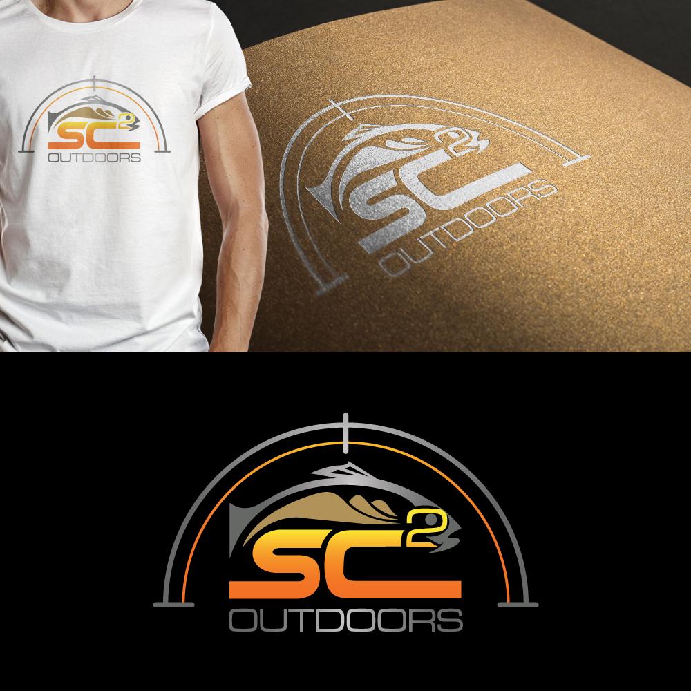 Logo Design by JerukKeprok - Entry No. 173 in the Logo Design Contest Imaginative Logo Design for SC2 Outdoors Hunting / Fishing Logo.