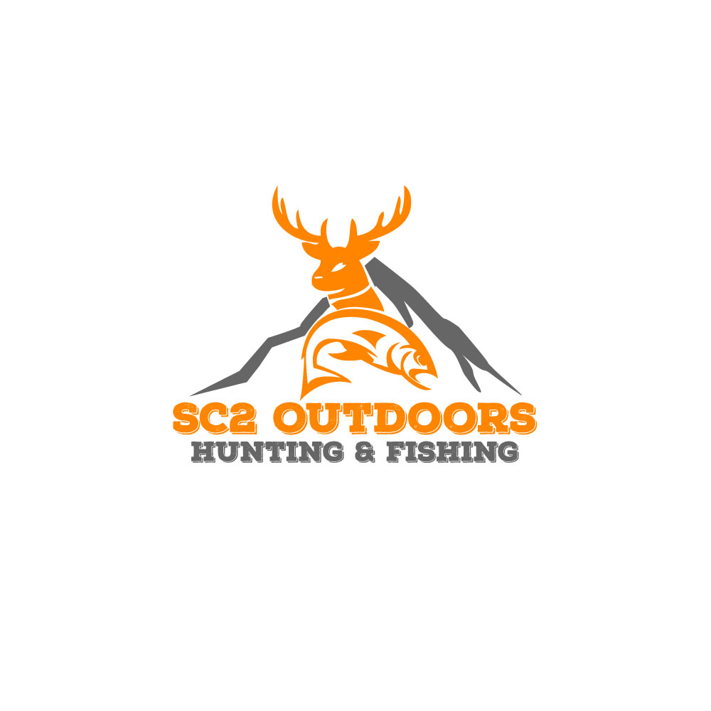 Logo Design by Easrat Jahan - Entry No. 181 in the Logo Design Contest Imaginative Logo Design for SC2 Outdoors Hunting / Fishing Logo.