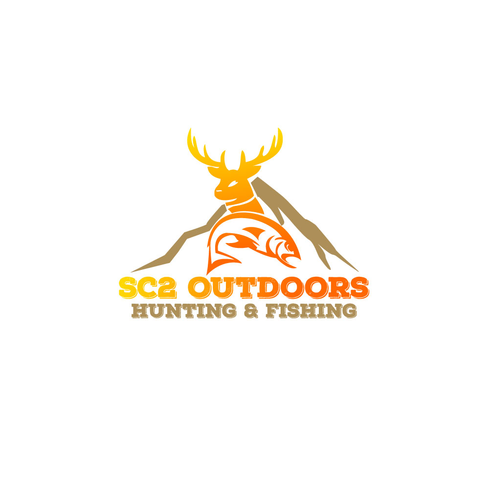 Logo Design by Easrat Jahan - Entry No. 182 in the Logo Design Contest Imaginative Logo Design for SC2 Outdoors Hunting / Fishing Logo.