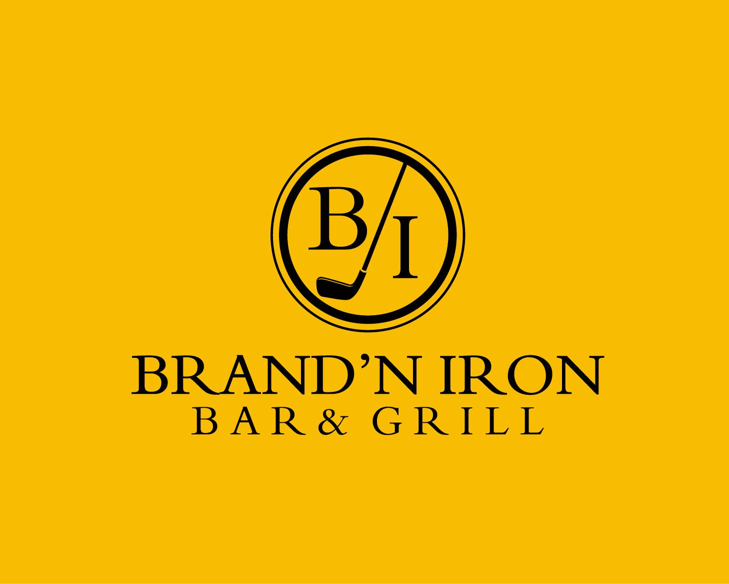 Logo Design by Allan Esclamado - Entry No. 199 in the Logo Design Contest Captivating Logo Design for Brand'n Iron Bar & Grill.