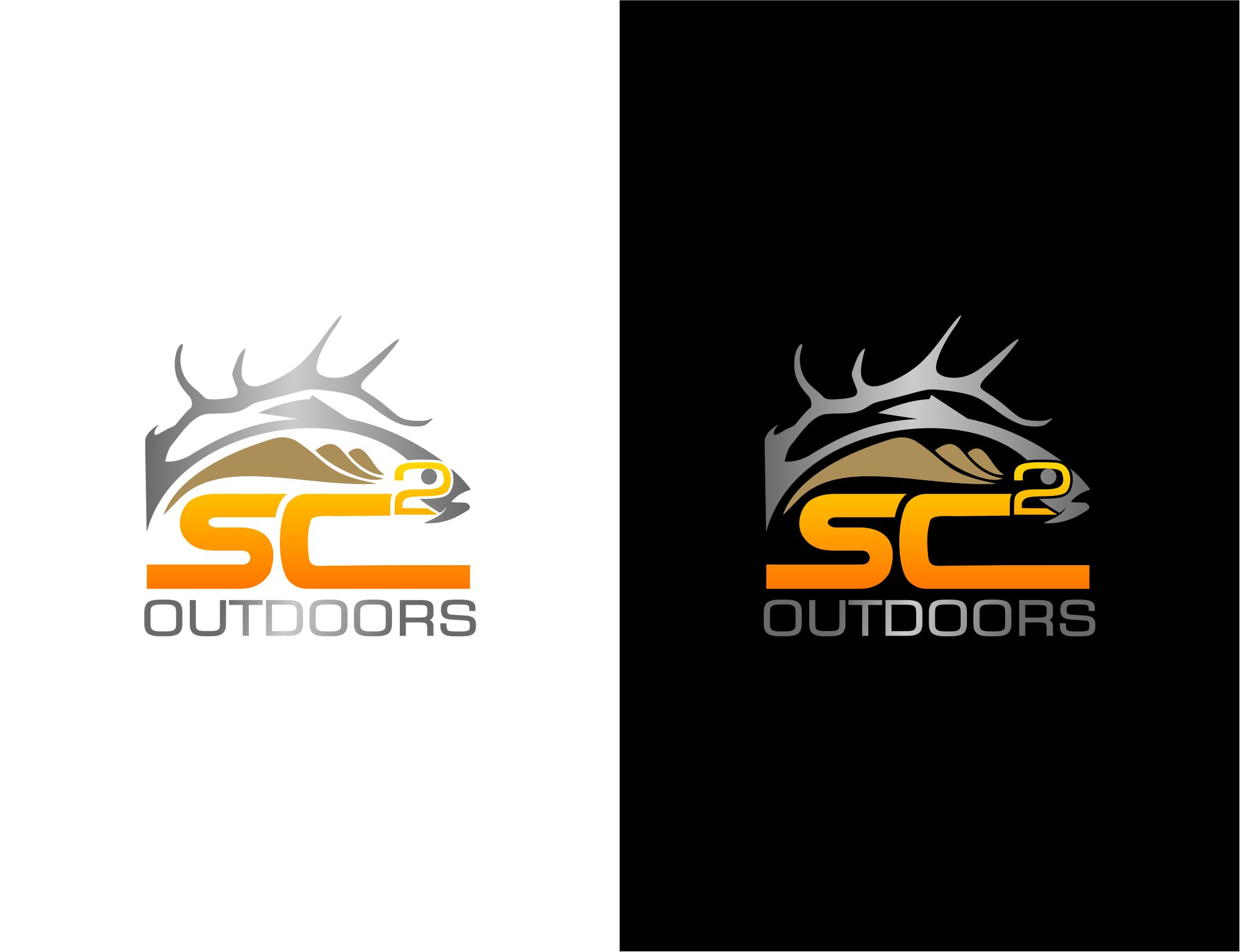 Logo Design by Raymond Garcia - Entry No. 187 in the Logo Design Contest Imaginative Logo Design for SC2 Outdoors Hunting / Fishing Logo.