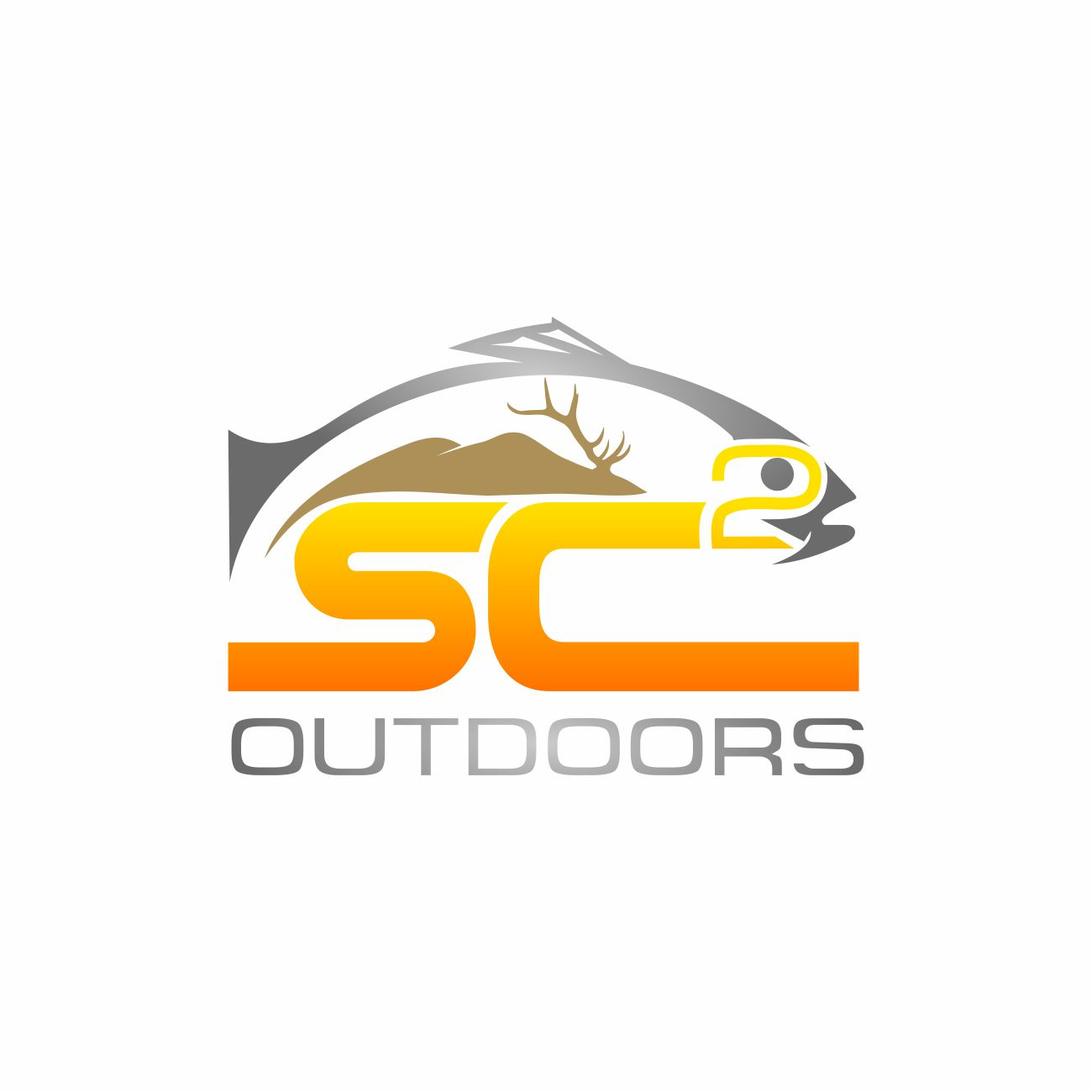 Logo Design by RasYa Muhammad Athaya - Entry No. 191 in the Logo Design Contest Imaginative Logo Design for SC2 Outdoors Hunting / Fishing Logo.