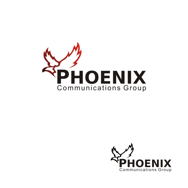 Logo Design by Seven Digitz - Entry No. 34 in the Logo Design Contest Phoenix Communications Group.