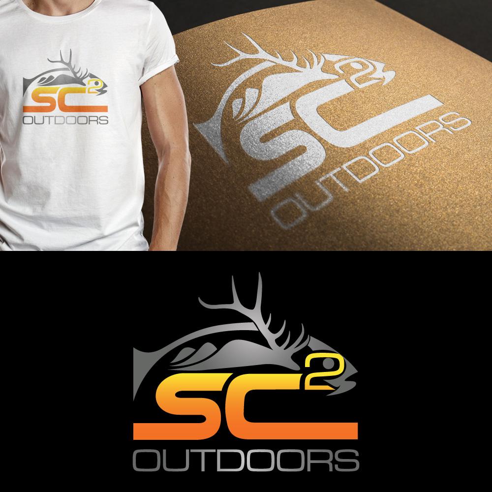 Logo Design by JerukKeprok - Entry No. 197 in the Logo Design Contest Imaginative Logo Design for SC2 Outdoors Hunting / Fishing Logo.