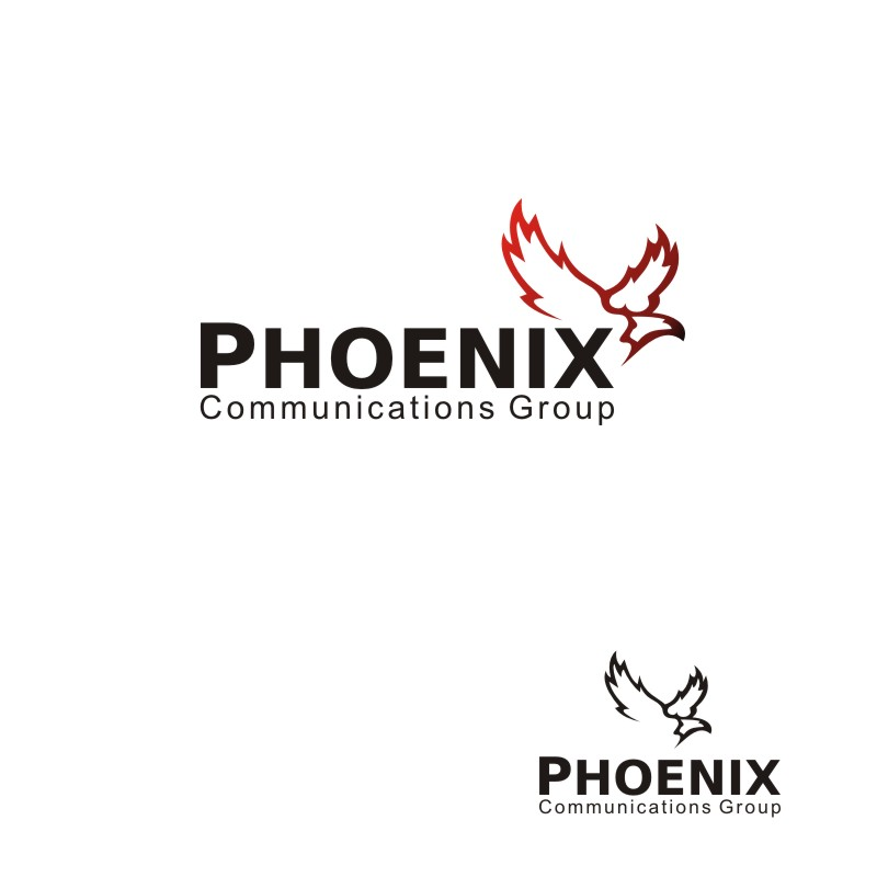 Logo Design by Seven Digitz - Entry No. 35 in the Logo Design Contest Phoenix Communications Group.